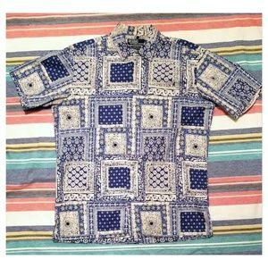 Polo Ralph Lauren Camp Shirt- Small- Dope Shirt